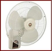 "Millat Bracket Fan 18"" Metal Bracket Fan Platinum"