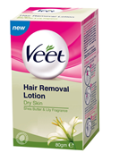 Veet Dry Hair Removal Lotion 40gm