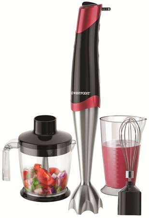 Buy Westpoint Hand Blender With Chopper & Egg Beater WF-9816  online