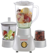 Westpoint Blender Dry and Chopper Mill (3 In 1) WF-313