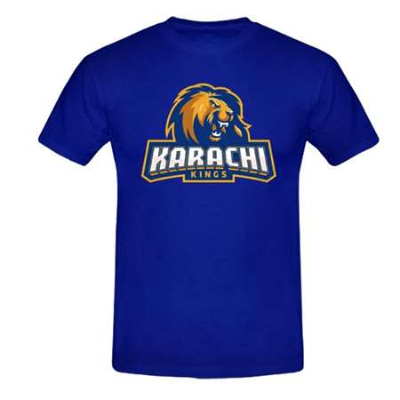 Buy Karachi Kings Round Neck T-Shirt  online