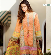 Pareesa Cotton Silk PL- 495