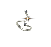 ARY Jewellers Silver Ring R-28.2