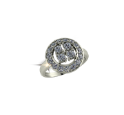 ARY Jewellers Silver Ring R42