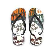 The WareHouse The Zombies Night Out Printed Flip Flop