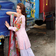 Buy Online Motifz Light pink Embroidered  Lawn at ARY Sahulat Bazar Pakistan