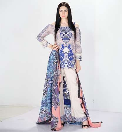 Buy Shiza Hasan Unstiched Stylished 3 Piece  SitiQueen19th Aug  online