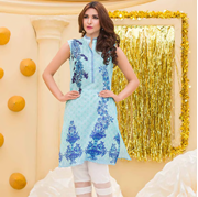 Buy Online Pal Unstitched Printed Embroidered Lawn Shirt PLK-003 at ARY Sahulat Bazar Pakistan