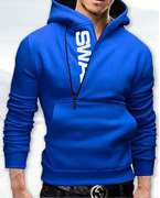 Big Deal Stylish Blue Swag Hoodie