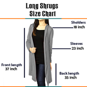 Buy Pack Of 5 New And Stylish Shrugs  online