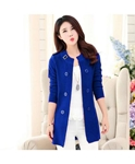 Cardigan's Women Ladies Coat Blue