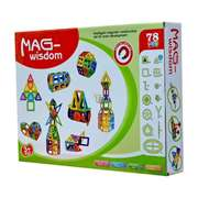 Mag-Wisdom Magnetic Blocks (78 Pcs)