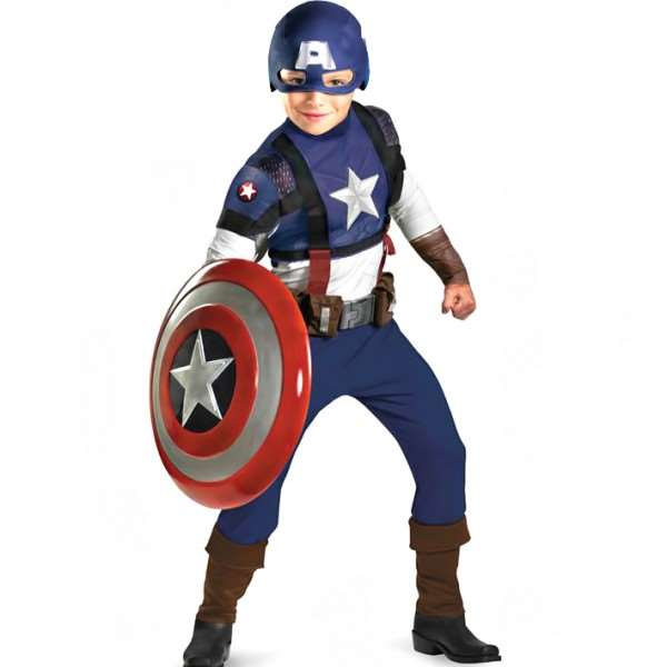 Boys Deluxe Captain America Costume  sc 1 st  ARY Sahulat Bazar & Boys Deluxe Captain America Costume shopping in Pakistan