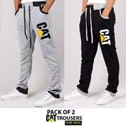 Pack of 2 CAT Trousers For Men