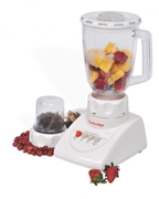 Cambridge Appliance BL-214 - Blender with Mill - 250W - White