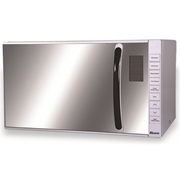 Absons Microwave Oven Digital With Grill 28 Litres Sliver Color With Mirror Glass