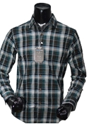 Buy Bluetag BLT-CC6 Black & Green Checked  online