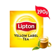 LIPTON YELLOW LABEL TEA, 190GM