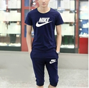 Buy Special Diamond Deal Export Quality T-shirt And Baggy Short Combo Pack In Blue  online