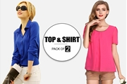 Special Diamond Deal Pack OF 2 Top and Shirt