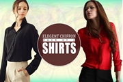 Special Diamond Deal Pack Of 2 Premium Chiffon Shirts For Ladies