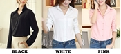Buy Special Diamond Deal Pack Of 2 Premium Chiffon Shirts For Ladies  online