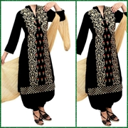 Big B Kurti-BLK LE78 [Full 3pc Suit]