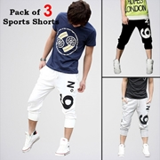 Special Diamond Deal Men's Pack Of 3 Sporty Shorts
