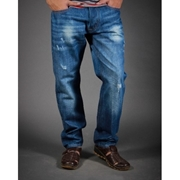 Jeans Blue Mid wash RTP069