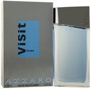 Visit by Azzaro for Men - Eau de Toilette, 100ml
