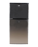 Gaba National GNR-825 - Two Door Refrigerator - Grey