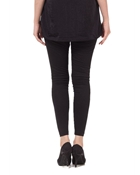 Buy Tsquare Black Cotton Tights For Women  online
