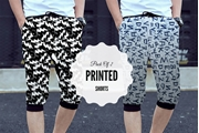 Special Diamond Deal Pack Of 2 Printed Shorts