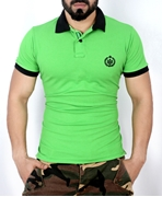 Green Stylish Polo Shirt QZS-111