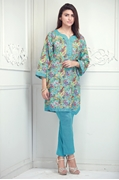 Chaman Classic Lawn Turquoise USS17-CML-018C