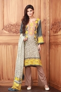 Lala Collection Lawn Print Red USS17-LAC-016A
