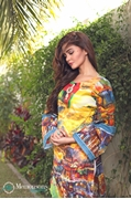 Shahaz digital Lawn Yellow