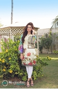 Shahaz digital Lawn Flower Print