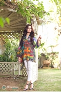 Shahaz digital Lawn Exotic Print