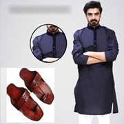 Special Diamond Deal Eid Package Kurta With Kolhapuri