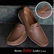 Brown Aero Loafer for Men