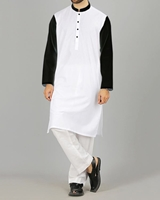 Zia Collection See Designs Men White kurta