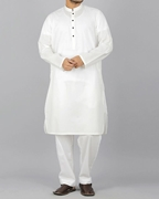Zia Collection Designs Men White kurta