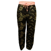 Wear Bank Army Green Cotton Printed Trouser For Men - CT-950