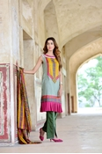 Buy Sana Samia Net Collection Mongia Green USS17-SLC-002A  online