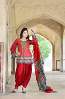 Sana Samia Net Collection Red USS17-SLC-003B