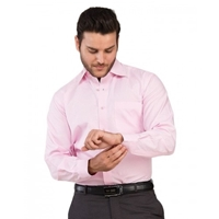 Envogue Apparel Pink Formal Shirt