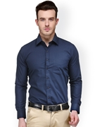 Envogue Apparel Hancock Navy Slim Fit Formal Shirt