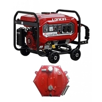 Loncin LC3600DDC - Petrol & Gas Generator - 2.5 KW - with Gas Kit