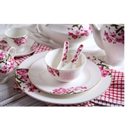 Floral 46PCS Dinner Set Without Soup Set (CRK-NBC-005)